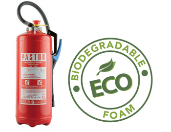 Pastor foam based fire extinguishers