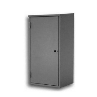 CABINET FOR FIRE EXTINGUISHER SOLID DOOR INOX
