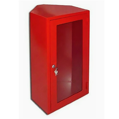 ANGLE CABINET FOR FIRE EXTINGUISHER